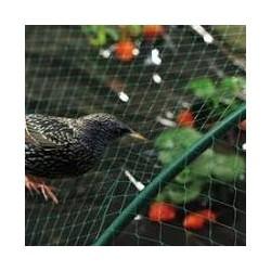 Síť proti ptákům 4x10m/2,5x2,5 černá