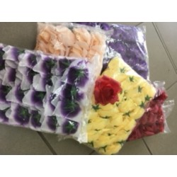 Růže látková různé barvy