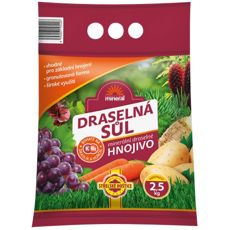 Forestina Draselná sůl 2,5kg