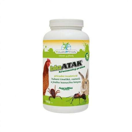 AgroBio - BioAtak křemenitý prášek 100g