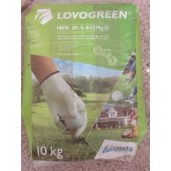 Lovochemie Lovogreen 10kg jaro-léto, trávníkové hnojivo