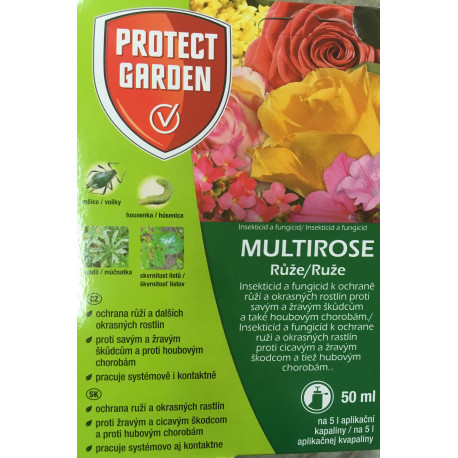 Bayer AG Multirose Na růže 2v1 50ml