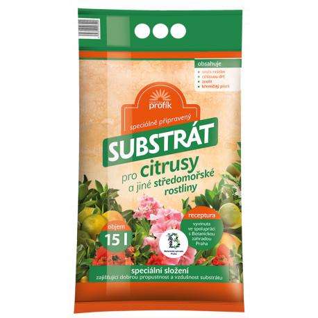Forestina Substrát pro citrusy, palmy aj. 15l