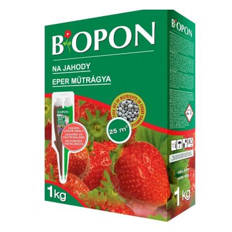 BIOPON hnojivo na jahody zahradní a lesní 1 kg