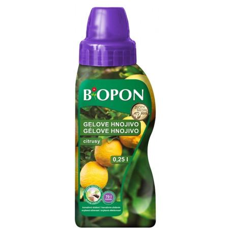 BIOPON hnojivo na citrusy gelové 250ml