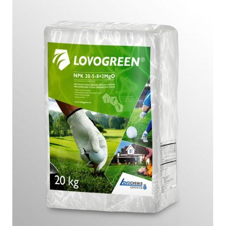 Lovochemie Lovogreen 20kg jaro-léto, trávníkové hnojivo