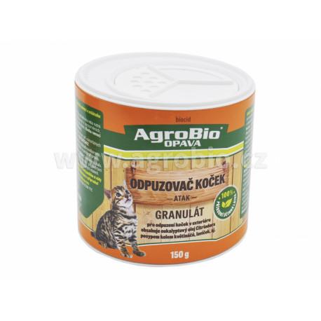 AgroBio Odpuzovač koček granulát (ATAK) 150g
