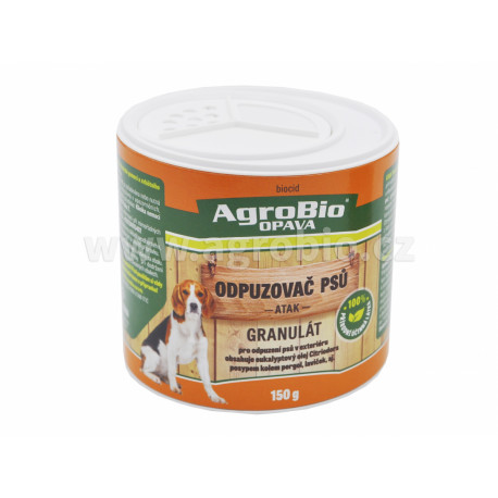 AgroBio Odpuzovač psů granulát (ATAK) 150g