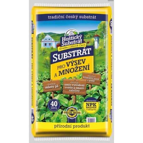 Forestina Hoštický substrát - Substrát pro výsev a množení 40l