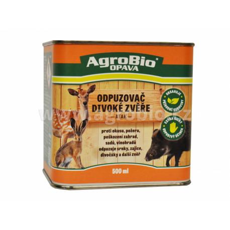 AgroBio Odpuzovač divoké zvěře (ATAK) 500 ml