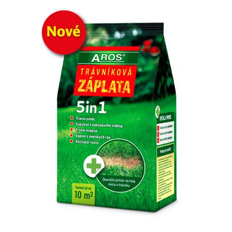 AROS Travní směs trávníková záplata 5 in 1 1,5kg
