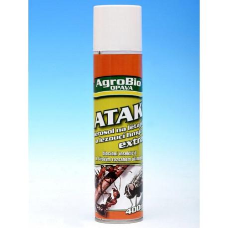 Atak aerosol na létající a lezoucí hmyz Extra 750ml
