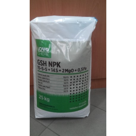 Lovochemie NPK 15-5-5-14S+2MgO+0,5Fe 25kg