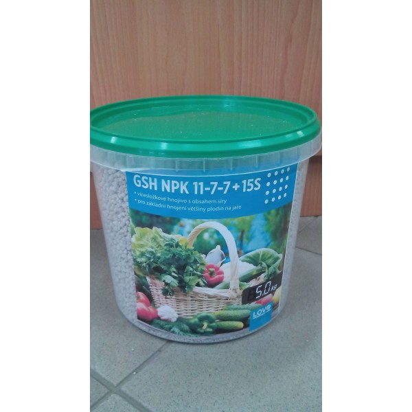 Lovochemie NPK 11-7-7 5kg
