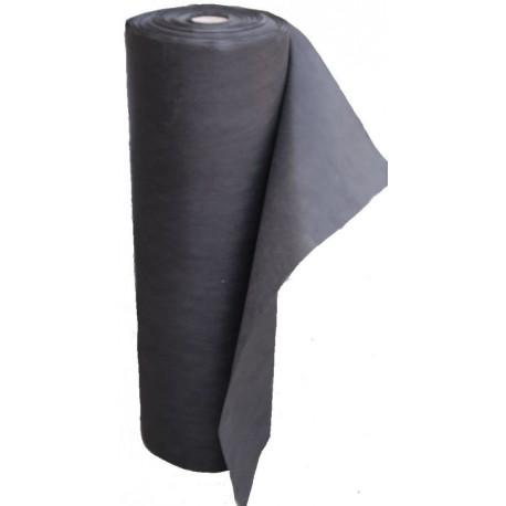 Netkaná textílie černá 1,6x100 m