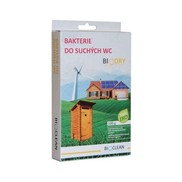 Bioclean - Bakterie do suchých wc 100g